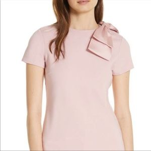 NWT Ted baker London Joyous bow shoulder top $159